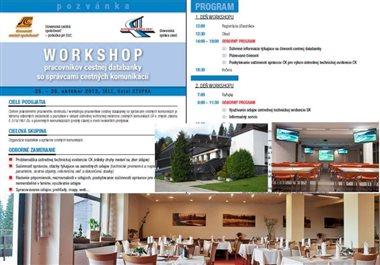 Workshop pre správcov - 2015