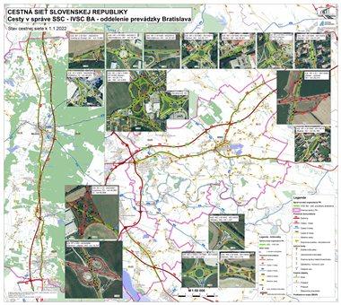Mapy pre správcov s križovatkami
