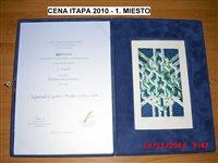 Cena ITAPA 2010