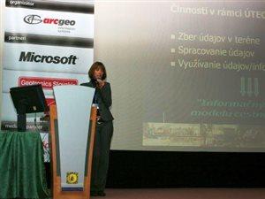 2010 - konferencia užívatelov GIS ESRI