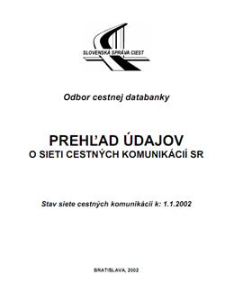 Prehľad CK k 1.1.2002