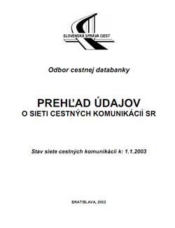 Prehľad CK k 1.1.2003