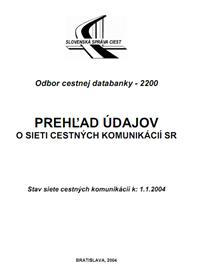 Prehľad CK k 1.1.2004