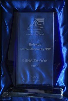 Cena Slovenskej cestnej spoločnosti za rok 2018