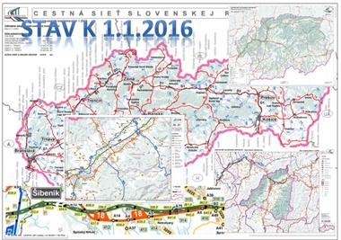 Stav aktualizácie máp - február 2016