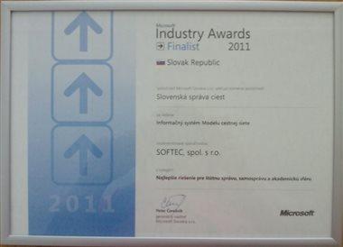 Microsoft Industry Awards 2011