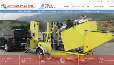 Redizajn webového sídla CDB