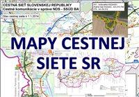 Mapy cestnej siete SR