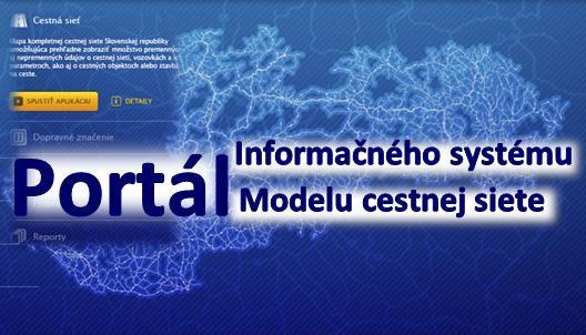 Aktuálne údaje centrálnej technickej evidencie ciest