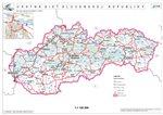 Prečíslovanie vybraných ciest I. triedy - Mapa