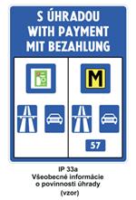 Dopravná značka IP33