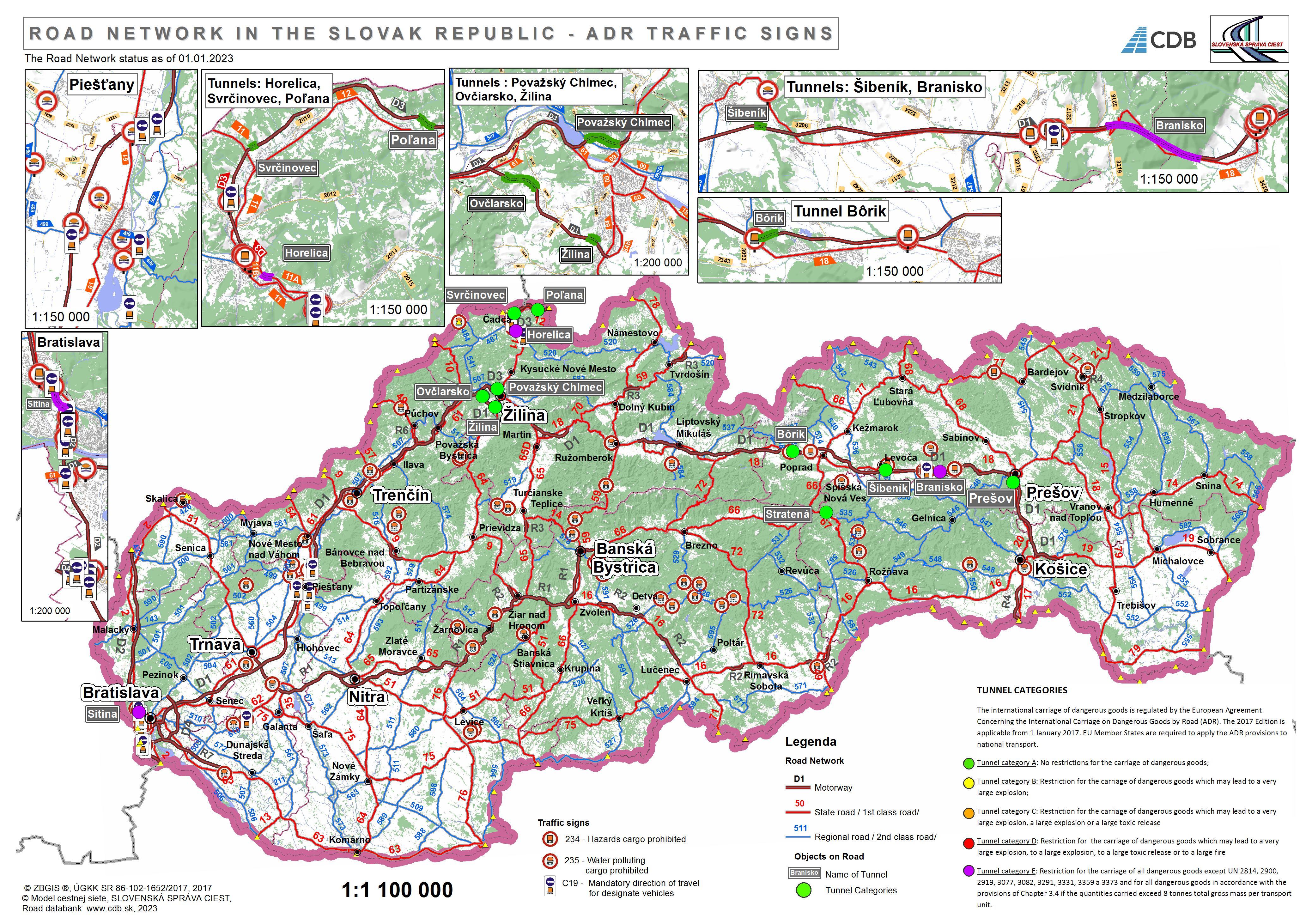 Road Network - Slovak Republic | cdb.sk