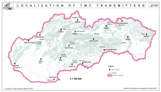 Localization of TMC transmitters