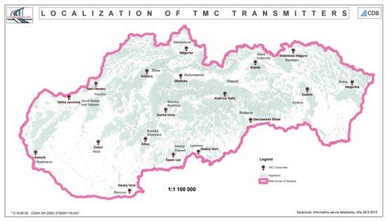 Localization of TMC transmitters
