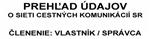 Listovať v knihe: CK - vl/spravca k. 1.1.2012